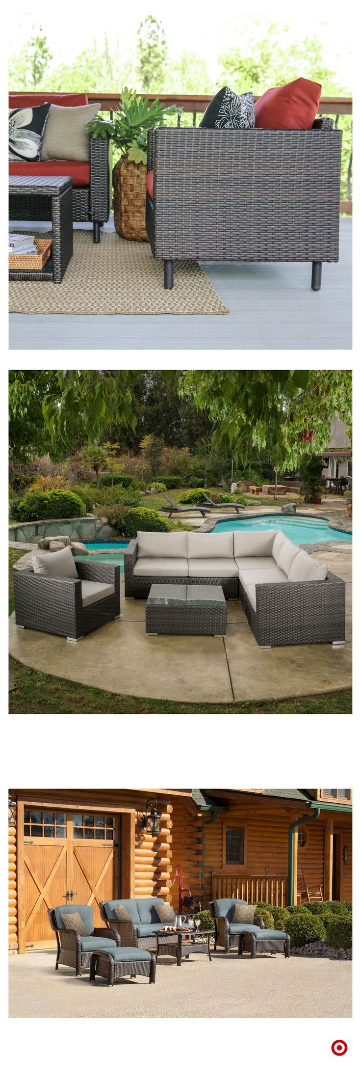 Shop Target for patio seating set you will love at great low prices. Free shipping on all orders or free same-day pick-up in store.