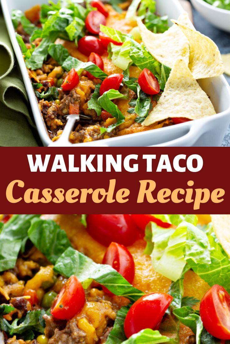Walking Taco Casserole Recipe Recipe In 2020 Walking Taco Casserole Recipe Taco Casserole Casserole Recipes