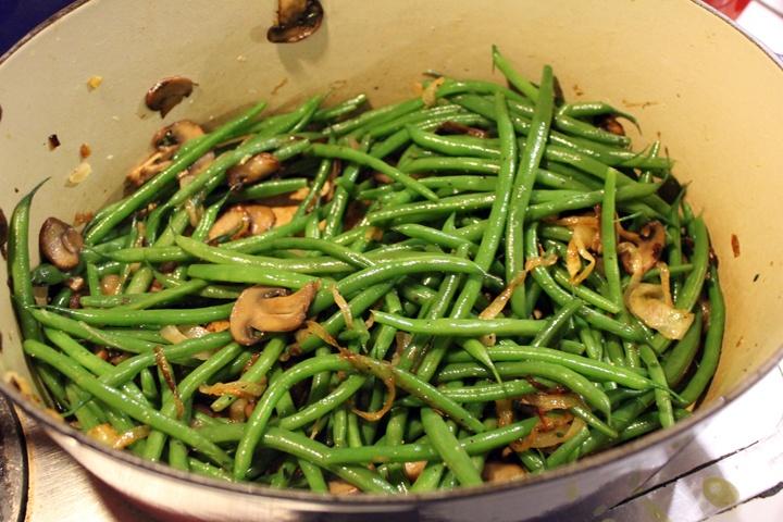 Green Bean, Mushroom And Caramelized Onion Tart Recipes — Dishmaps