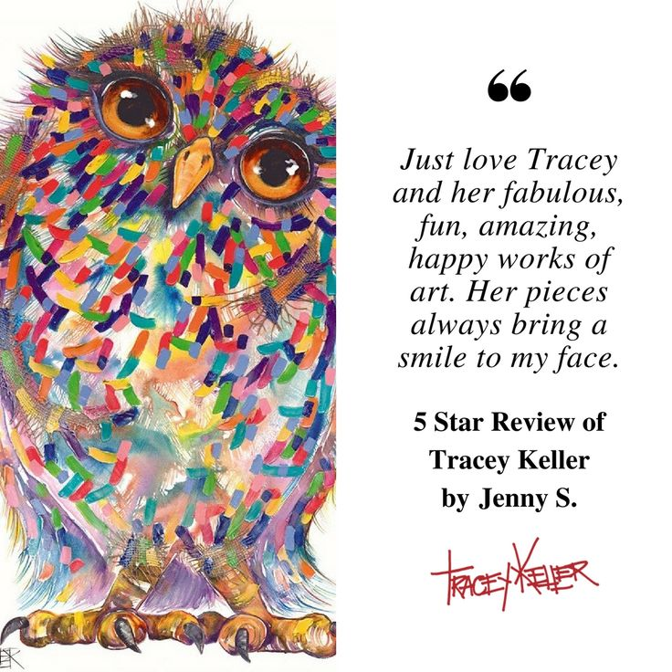 Thank you Jenny for sharing the good feedback.  #traceykeller #artist #gifts #interiordesign