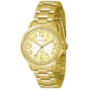 Relógio Feminino Analógico Lince Fashion LRGJ032LC2KX - Dourado
