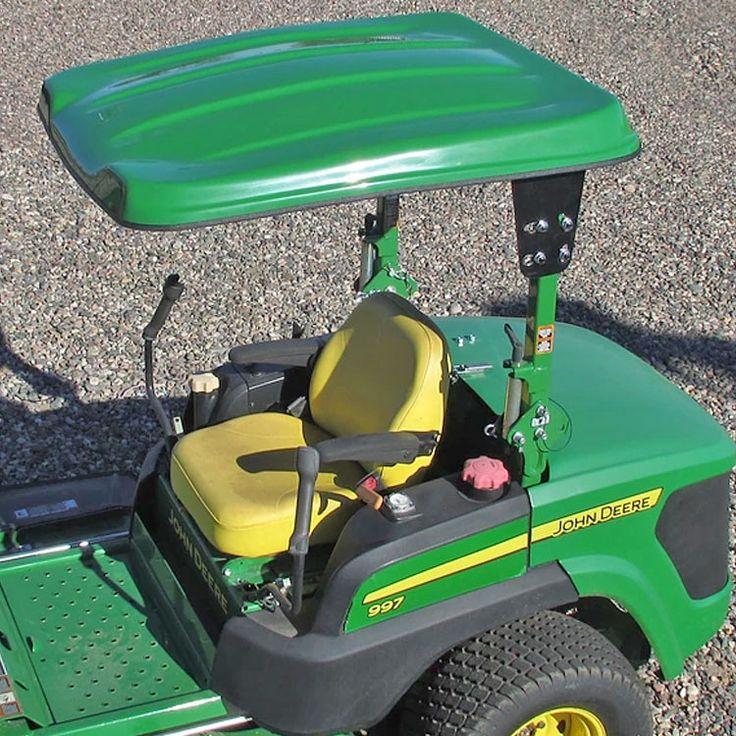 "41"" W x 50"" L Fiberglass Canopy Kit for John Deere Sub-Compact Tractors & Mowers"