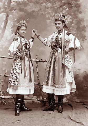 ignác šechtl dancing modification of south bohemian garb ignác ...