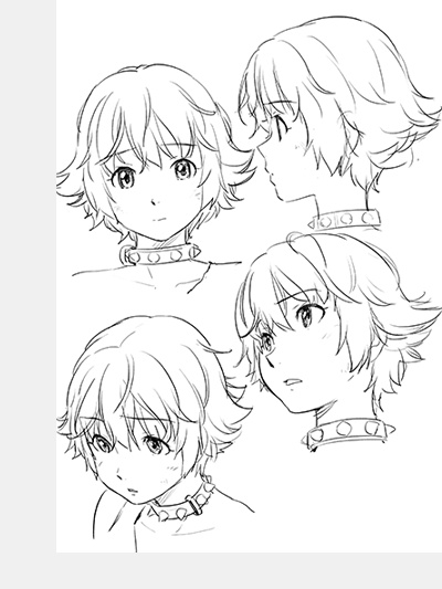 Comic Character Design Tutorial : An early look at pirates from gargantia anime