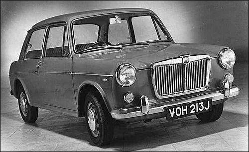 1970 MG 1300 MkII 2 Door