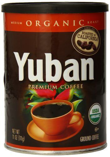 Yuban Medium Organic Ground Coffee, 11 Ounce…