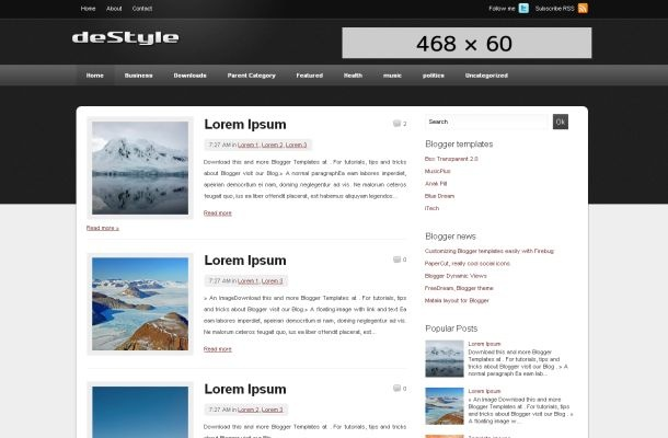 jQuery templates are now live and in just a few clicks from you