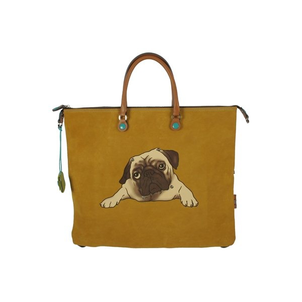 How cute is this bag?  G3 Carlino - Large Yellow Genuine Leather Made in Italy by Gabs