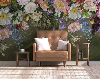 European Simple Creative Abstract Wallpaper Wall Murals, Wall Art for Living Room Bedroom , Snow Tre