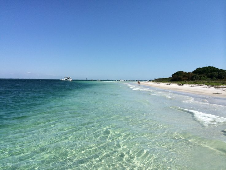 A short ferry ride from Fort De Soto Park lies Egmont Key, an island packed with history and nature. Not to mention the incredible clear water & white-sand beach.