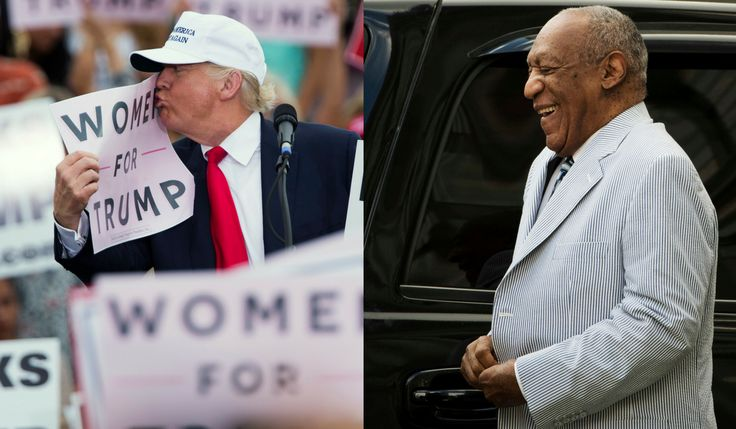 Donald Trump, Bill Cosby, and what happens when we don't believe women