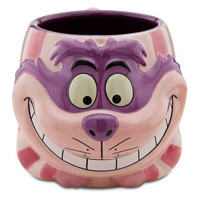 "In 2012, the Disney Stores celebrated their 25th anniversary, and came out with some terrific mugs. One of our favorites is this one! CHESHIRE CAT MUG (DISNEY STORE 25TH ANNIVERSARY) (from Walt Disney's ""Alice in Wonderland"")"