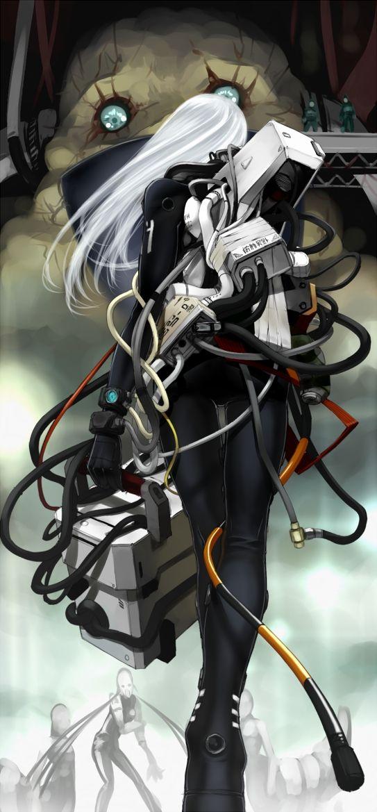 Anime, Blame!, Tsutomu Nihei Art