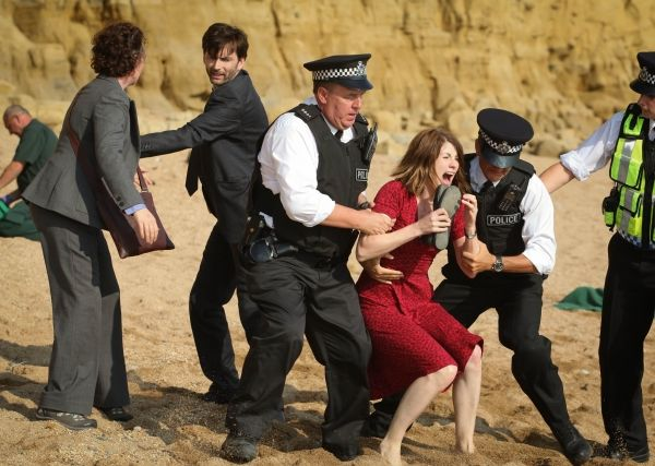 Apart from the brilliant writing of Chris Chibnall, the strength of Broadchurch is its ensemble cast lead by David Tennant and Olivia Colman. The characters portrayed by the cast all have their secrets to hide but who killed eleven year old Danny Latimer? BBC America has released its list of murder suspects from the small town of Broadchurch...