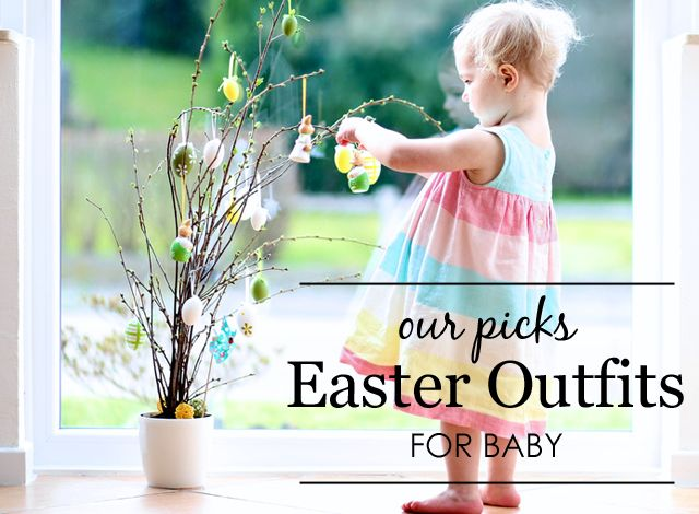 Our Picks: Easter Outfit for Baby {projectnursery.com}: Baby Easter Outfits, Baby Projectnurseri Com, Nurseries Tops, Baby Projects, Baby Style, Projects Nurseries, Easter Trees, Bebe Projects, Ideas De