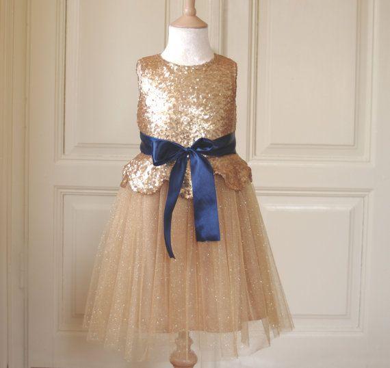 17 Best ideas about Gold Flower Girl Dresses on Pinterest | Flower ...