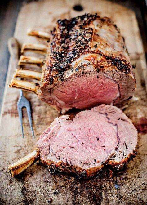 How To Make Standing Rib Roast | Recipe | Rib roast, Rib ...