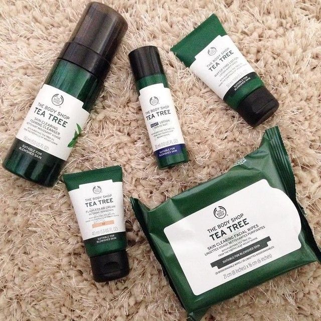 Our Number One Anti Acne Skin Care Range Since 1995 Powerful Tea Tree Oil Has Proven Healing And Ant Body Shop Tea Tree Anti Acne Skin Care Skin Care Remedies