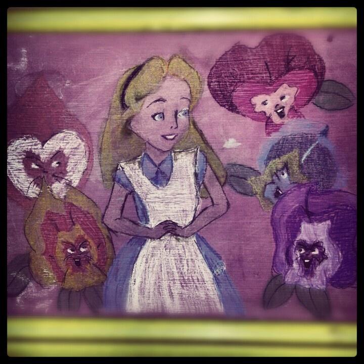 Alice in chalk