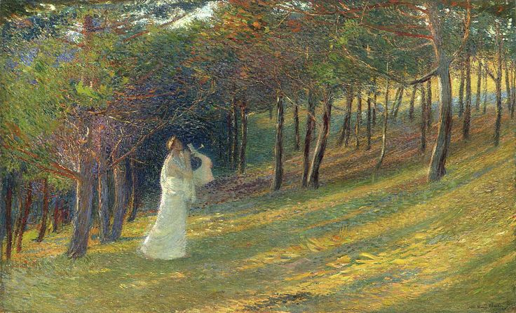 Orpheus in Wood - Henri Martin