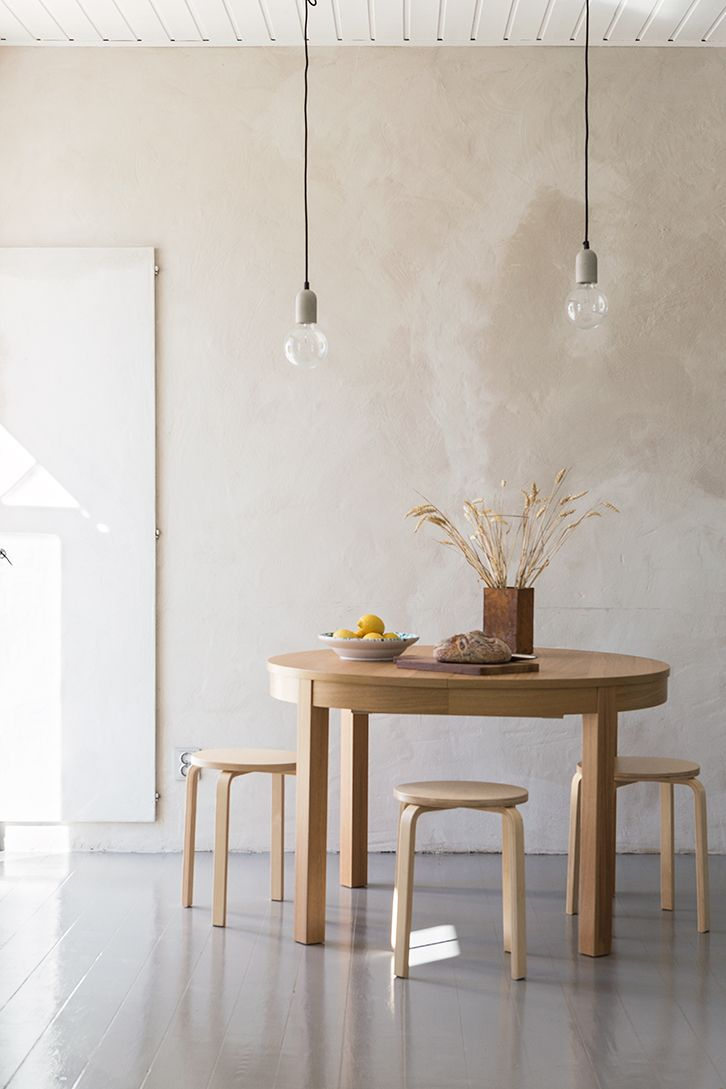 Dining table and stools | Made in Persbo