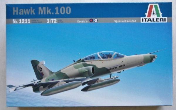 ITALERI ITALERI 1/72 1211 BAe HAWK SERIES Mk.100