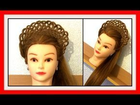 3D LACE BASKET BRAID HALF UPSTYLE HAIRSTYLE / HairGlamour Styles / Hairstyles / Hair Tutorial - YouTube