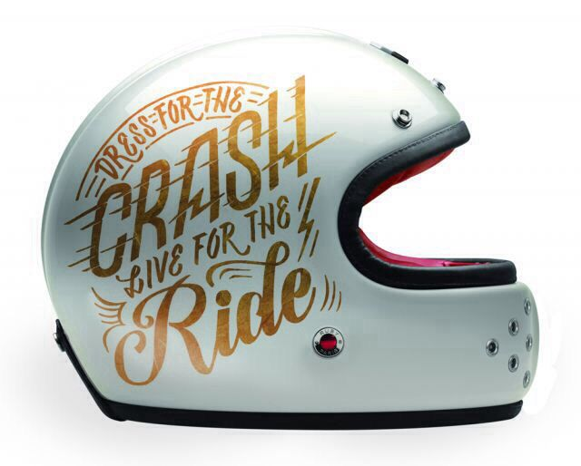 Dress For The Crash - Love For The Ride ❤️