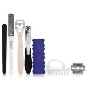 tweezerman pedicure kit 5205 1 6 piece set by tweezerman kit contains callus shaver. Black Bedroom Furniture Sets. Home Design Ideas