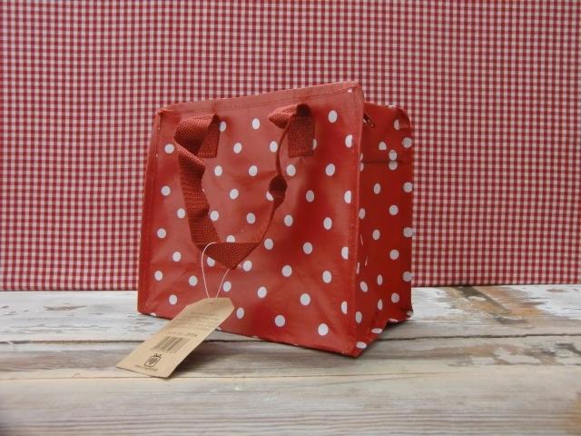 Tasje rood met witte stip uit Kleine tasjes en portemonnees online bestellen bij Bij-jet.nl