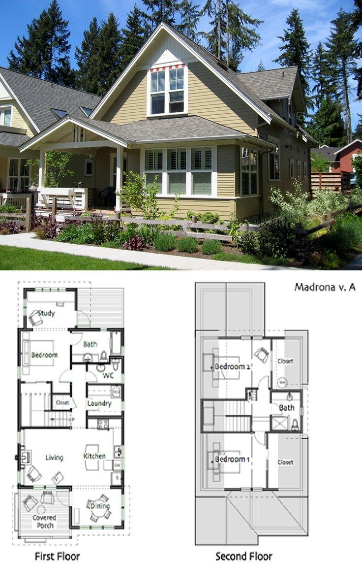 494 best Floor plans images on Pinterest | Small houses, Floor plans ...