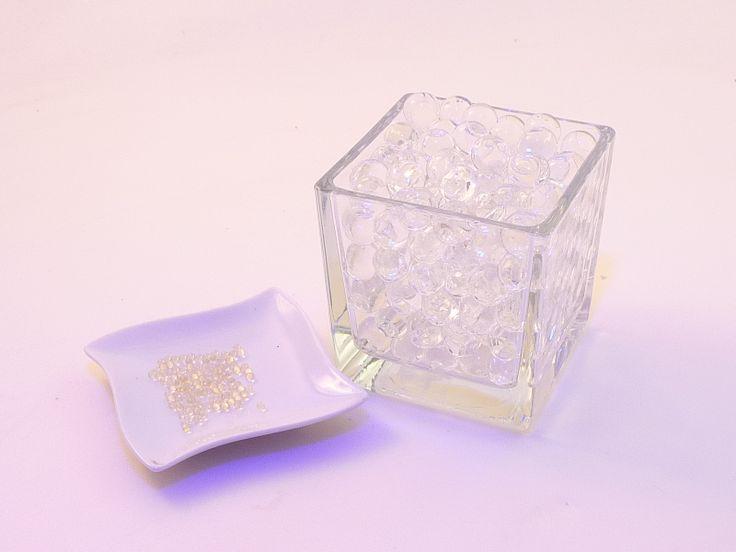 billes de gel cristales