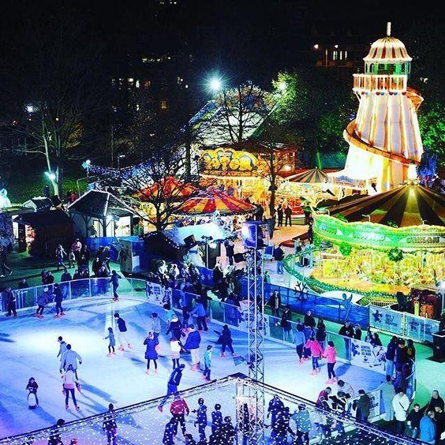 Visit Winter Wonderland Staten Island at Richmond County Bank Ballpark through December 23. There's ice skating, a life-size gingerbread house, Santa's workshop, and a frosty snow tube slide. 📸: @newyork_freetime ⠀  ⠀  #StatenIsland #NYCholidays #NYC #nycgo #seeyourcity #thisisnewyorkcity #iloveny #lovenyc #🗽
