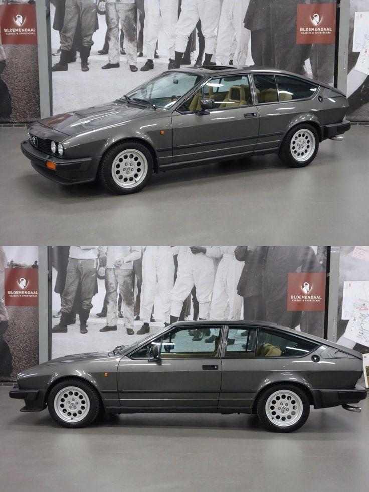 1985 Alfa Romeo Gtv6 In 2020 Alfa Romeo Gtv6 Alfa Romeo Classic Cars