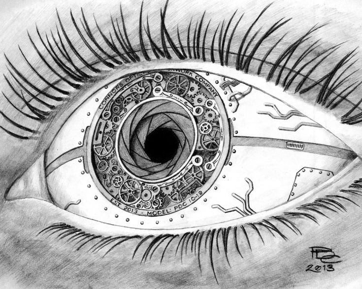 A Clockwork Eye by Sux2BeMe.deviantart.com on @deviantART