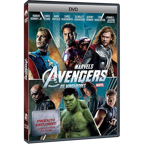 DVD Os Vingadores, por R$39.90