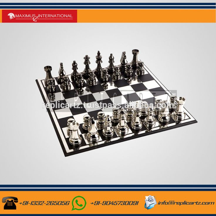 11 Inch Metal Indoor Sports Chess Games