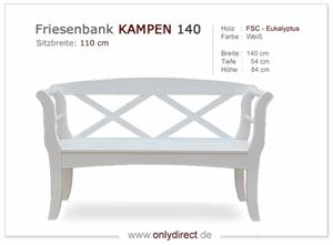 Friesenbank KAMPEN 140