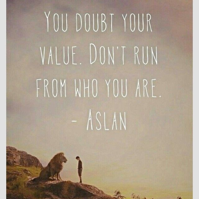 You wished yourself away, and with it much more . . . You doubt your value. Don't run from who you are.