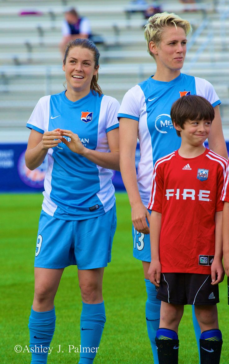 Kelley O'Hara & Sophie Schmidt | Washington Spirit vs Sky Blue FC- May 21st, 2014