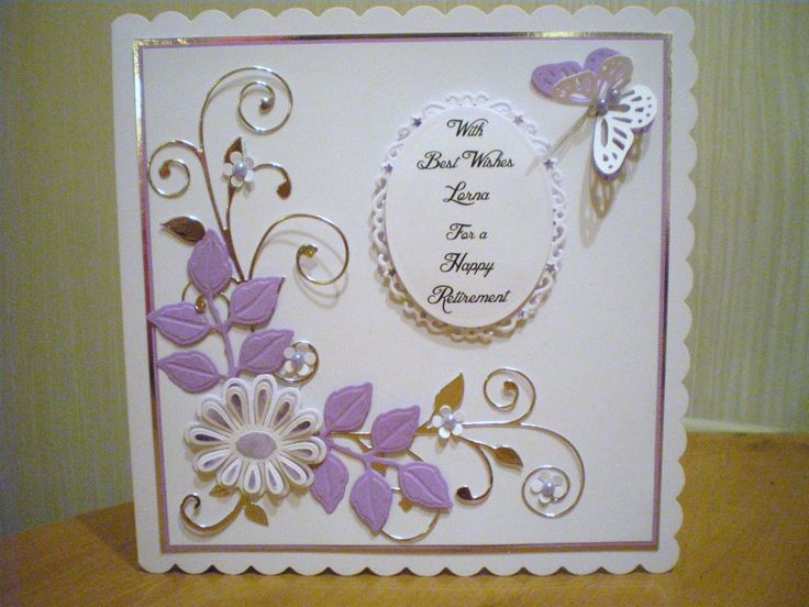 ... Cards Examples, Crafts Cards, Cards Pin, Cards Inspiration, Retirement