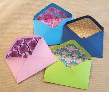 Cómo hacer sobres de papel | Aprender manualidades es facilisimo.com