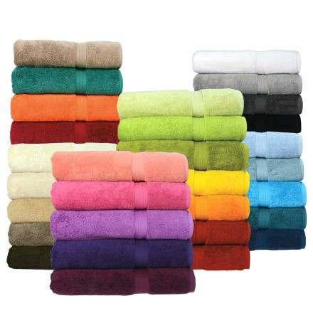 Pamper yourself with the Royal Plush towel collection. These elegant and comfortable 100% pure Egyptian combed cotton towels will definitely keep you warm and dry after showering. Get these Canada's thickest, softest, most absorbent towels and make your shower and after shower time the best moment of your day.  THICK & SOFT 30 DAYS MONEY BACK GUARANTEE: If you don't agree that this is the thickest, softest, most absorbent towel you're ever used, then return it where purchased for a full…