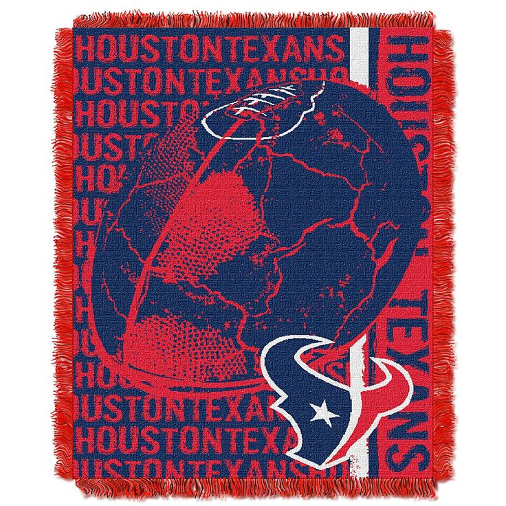 Football Fan Shop The Northwest Company Double Play Throw - Houston Texans