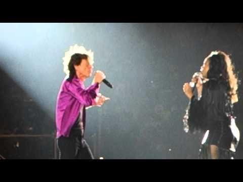 Rolling Stones Santiago de Chile 3 february 2016 Gimme Shelter Sasha Allen