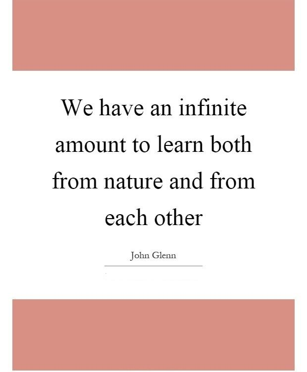 Infinite - Tap to see more memorable John Glenn quotes! | @mobile9