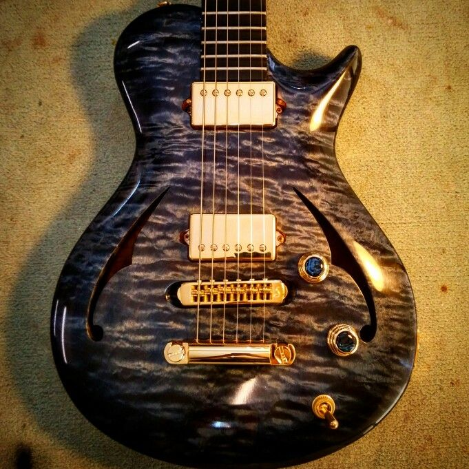 Quilted Maple Leaf - Custom Guitar