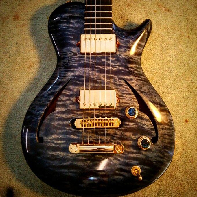 Quilted Maple Leaf - Custom Guitar