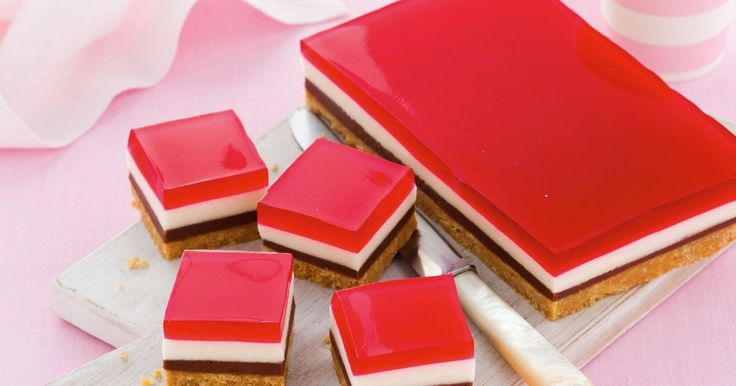 Put some jelly in your belly with this classic marshmallow slice, with a chocolate twist.