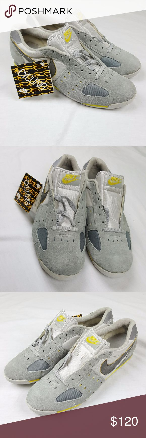 Nike Velo Cycling Shoes 1984 80s 90s funk Sz 12 OG Brand new with tag new old stock from 1980's. Has few marking here and there can see in pictures to see full details. In good condition for there age. Own a piece of nike history from 30 years ago. Nike Shoes Sneakers